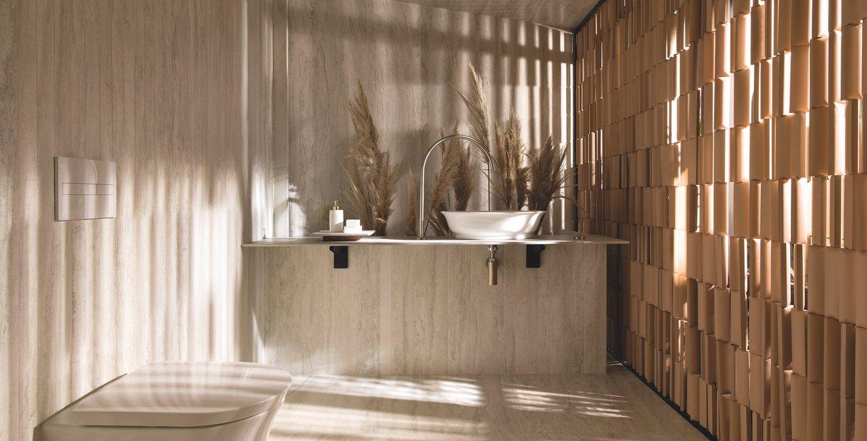 TRAVERTINO NAVONA GRIGIO / Projeto: Doma Arquitetura