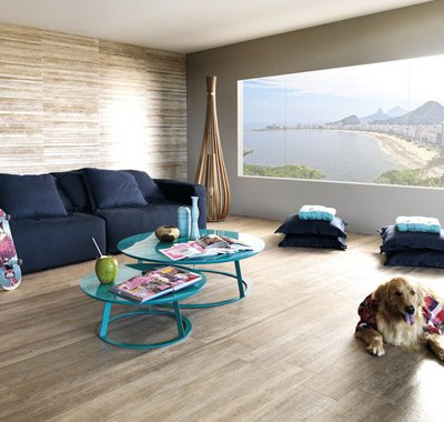 Madeira revisitada em 20x120. Design e sustentabilidade são os aliados desta novidade.