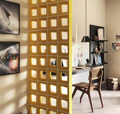 Cobogós. Arquitetura modernista brasileira para interagir com porcelanatos e acessórios.